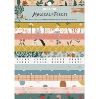 "Εικόνα του Crate Paper Single-Sided Card Making Pad 6""X8"" - Magical Forest"