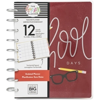 Εικόνα του Happy Planner 12-Month Undated Classic Planner - School Days