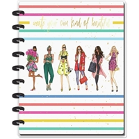 Εικόνα του Happy Planner Medium Journaling Notebook - Beautiful Rainbow X Rongrong