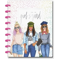 Εικόνα του Happy Planner Medium Journaling Notebook - Χ Rongrong Girl