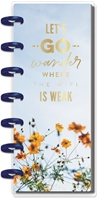 Εικόνα του Happy Planner Mini Skinny Notebook - Lets Go Wander Where The Wifi Is Weak