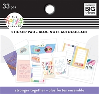 Εικόνα του Happy Planner Tiny Sticker Pad - Stronger Together