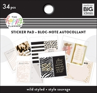 Εικόνα του Happy Planner Tiny Sticker Pad - Wild Styled