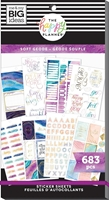 Εικόνα του Create 365 Happy Planner Sticker Value Pack - Soft Modern Geode