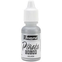 Εικόνα του Jacquard Pinata Color Alcohol Ink Mixative  .5oz - Silver