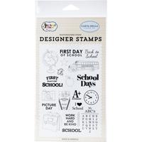 """Εικόνα του Σφραγίδες Carta Bella Stamps 4""""X6"""" - School Days"""