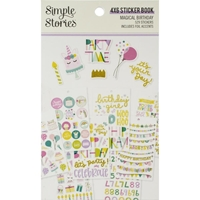 Εικόνα του Simple Stories Sticker Book - Magical Birthday