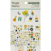 Εικόνα του Simple Stories Sticker Book - Birthday Blast