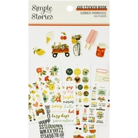 Εικόνα του Simple Stories Sticker Book - Summer Farmhouse