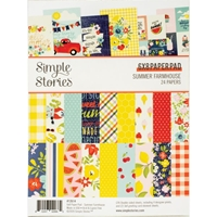"Εικόνα του Simple Stories Double-Sided Paper Pad 6""X8""  - Summer Farmhouse"