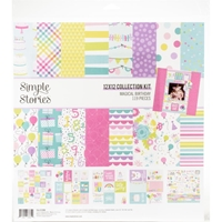 "Εικόνα του Simple Stories Collection Kit 12""X12"" - Magical Birthday"
