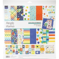 "Εικόνα του Simple Stories Collection Kit 12""X12"" - Birthday Blast"