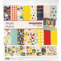 "Εικόνα του Simple Stories Collection Kit 12""X12"" - Summer Farmhouse"