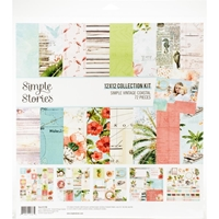"Εικόνα του Simple Stories Collection Kit 12""X12"" - Simple Vintage Coastal"