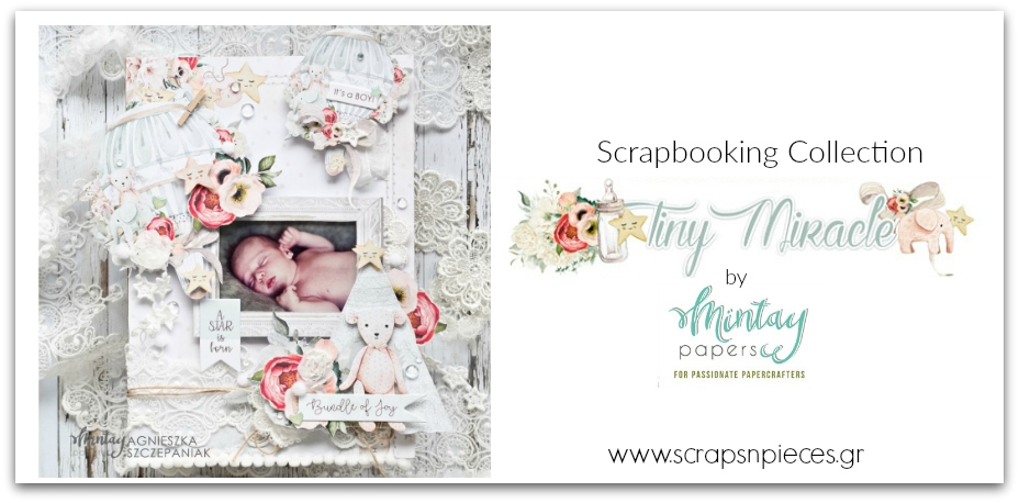 Tiny Miracle Scrapbooking Collection