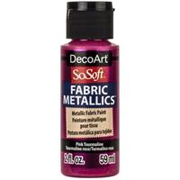 Εικόνα του SoSoft Fabric Metallics Ακρυλικο Χρώμα για Ύφασμα 59ml - Pink Tourmaline