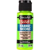 Εικόνα του SoSoft Neons Ακρυλικό Χρώμα για Ύφασμα - Neon Green
