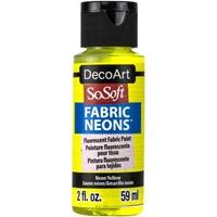 Εικόνα του SoSoft Neons Ακρυλικό Χρώμα για Ύφασμα - Neon Yellow