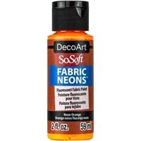 Εικόνα του SoSoft Neons Ακρυλικό Χρώμα για Ύφασμα - Neon Orange