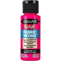Εικόνα του SoSoft Neons Ακρυλικό Χρώμα για Ύφασμα - Neon Pink