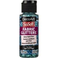Εικόνα του SoSoft Glitters Ακρυλικό Χρώμα για Ύφασμα 59ml - Sea Aqua