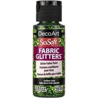 Εικόνα του SoSoft Glitters Ακρυλικό Χρώμα για Ύφασμα 59ml - Golden Jade
