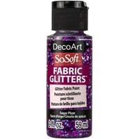 Εικόνα του SoSoft Glitters Ακρυλικό Χρώμα για Ύφασμα 59ml - Sugar Plum