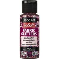Εικόνα του SoSoft Glitters Ακρυλικό Χρώμα για Ύφασμα 59ml - Pink Ice