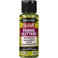 Εικόνα του SoSoft Glitters Ακρυλικό Χρώμα για Ύφασμα 59ml - Gold Glitz