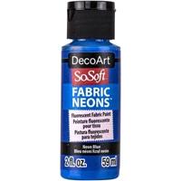 Εικόνα του SoSoft Neons Ακρυλικό Χρώμα για Ύφασμα - Neon Blue
