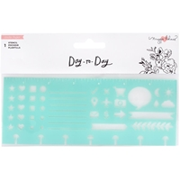 "Εικόνα του Maggie Holmes Day-To-Day Planner Stencil 7""X4.5"" - Icon"
