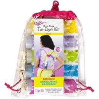 Εικόνα του Tulip One-Step Tie Dye Backpack Kit - Neon