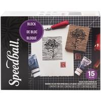 Εικόνα του Speedball Deluxe Block Printing Kit - Κιτ χαρακτικής