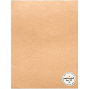 "Picture of American Crafts Washable Faux Leather Paper 8.5""X11"" - Rose Gold"