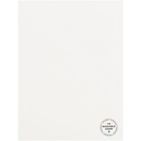 "Εικόνα του American Crafts Washable Matte Paper 8.5""X11"" - White"