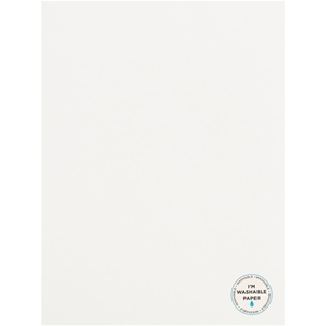 "Picture of American Crafts Washable Matte Paper 8.5""X11"" - White"