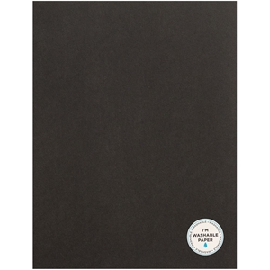 "Picture of American Crafts Washable Matte Paper 8.5""X11"" - Black"