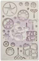 """Εικόνα του Καλούπια Σιλικόνης Finnabair Decor Moulds 5""""X8"""" - Mechanica"""