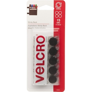 """Picture of Velcro® Brand Sticky Back Coins .625"""""""