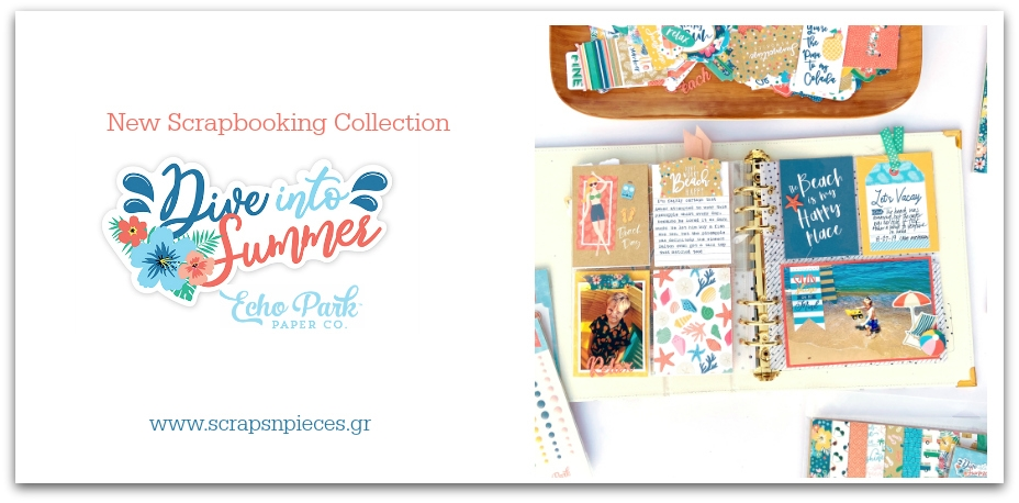 Dive into Summer Scrapbooking Collection