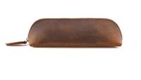 Εικόνα του Δερμάτινη κασετίνα με φερμουάρ
