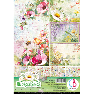 Picture of Ciao Bella Double-Sided Paper Pack A4 - Microcosmos
