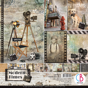 """Picture of Ciao Bella Double-Sided Paper Pack 12""""X12"""" - Modern Times"""