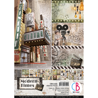 Εικόνα του Ciao Bella Double-Sided Paper Pack A4 - Modern Times