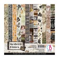 Εικόνα του Ciao Bella Double-Sided Paper Pack 6''x6'' - Modern Times