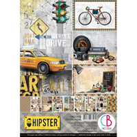 Εικόνα του Ciao Bella Double-Sided Paper Pack A4 - Hipster