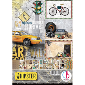 Picture of Ciao Bella Double-Sided Paper Pack A4 - Hipster