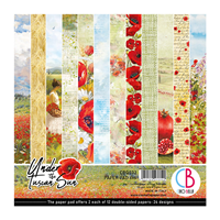 Εικόνα του Ciao Bella Double-Sided Paper Pack 6''x6'' - Under the Tuscan Sun