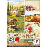 Εικόνα του Ciao Bella Double-Sided Paper Pack A4 - Under the Tuscan Sun