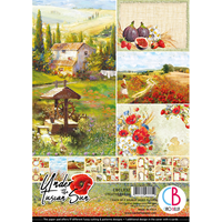 Εικόνα του Ciao Bella Double-Sided Paper Pack A4 - Under the Tuscan Sun